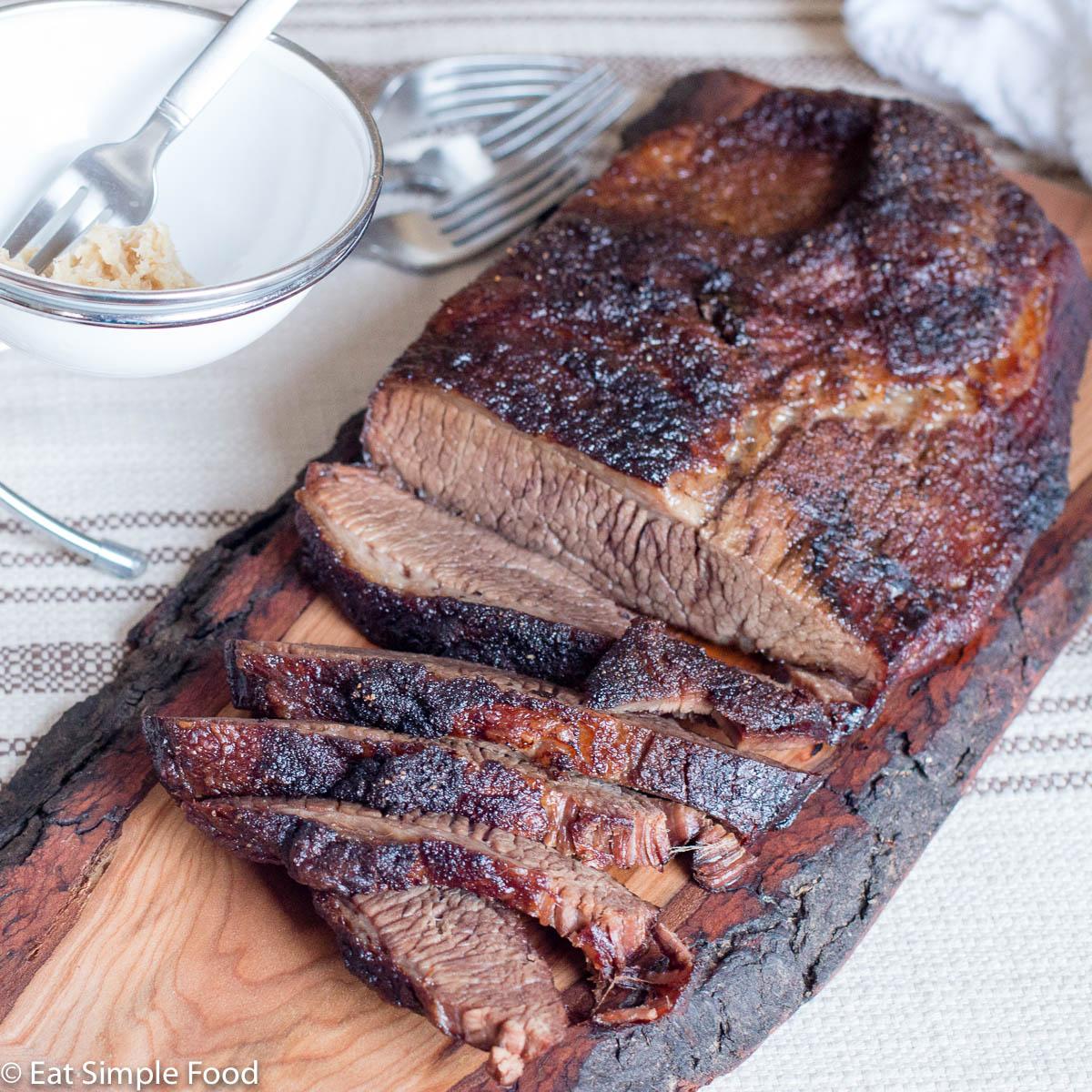 Simple Oven Roasted Beef Brisket