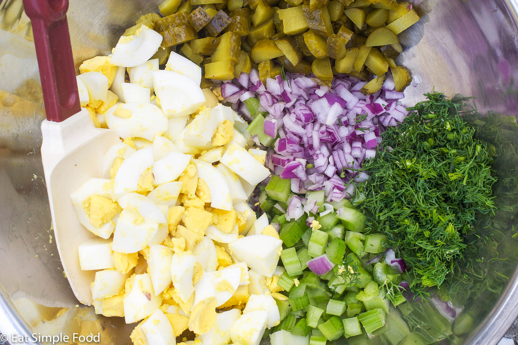 Potato Salad Recipe With Pickles And Eggs