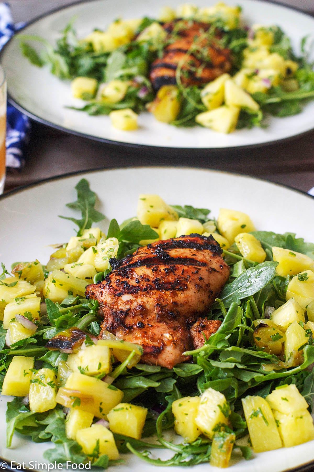 Spicy Grilled Jamaican Jerk Chicken Recipe Eat Simple Food