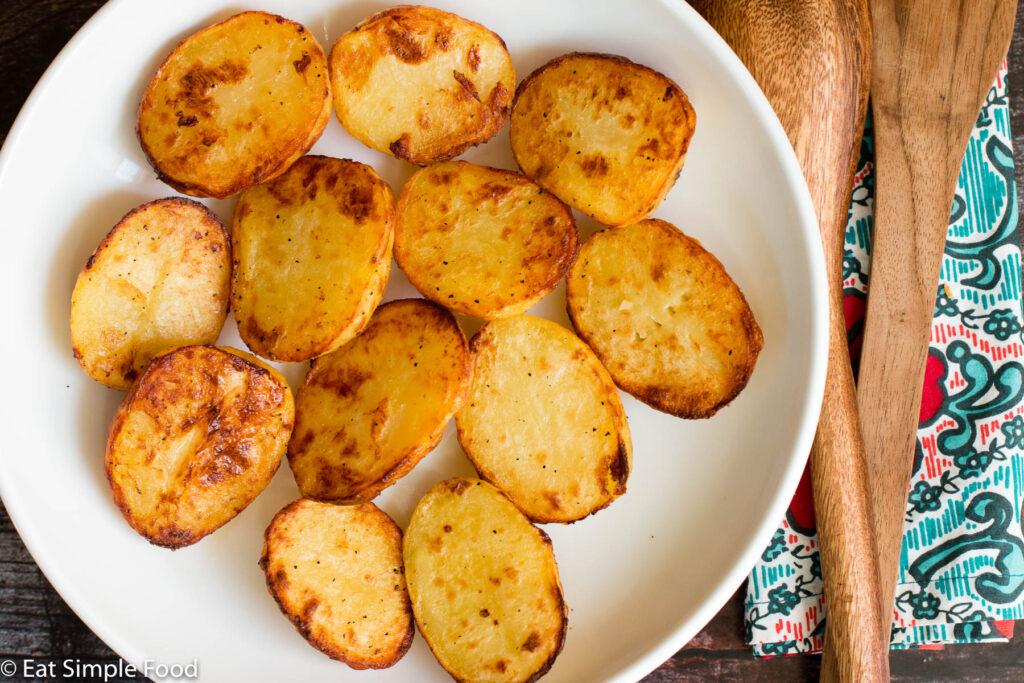 Crispy Oven Roasted Yukon Gold Potatoes Recipe Eat Simple Food