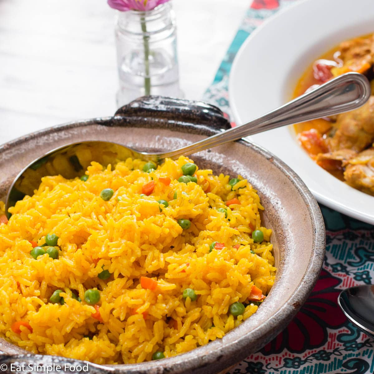 Easy Yellow Spanish Rice Arroz Amarillo Recipe Eat Simple Food